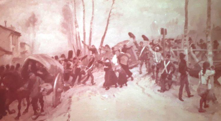 la bataille de Mesnil Saint Père en 1814